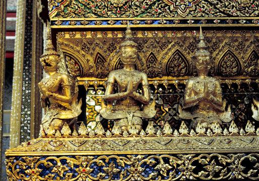 wat phra keo tempel in bangkok
