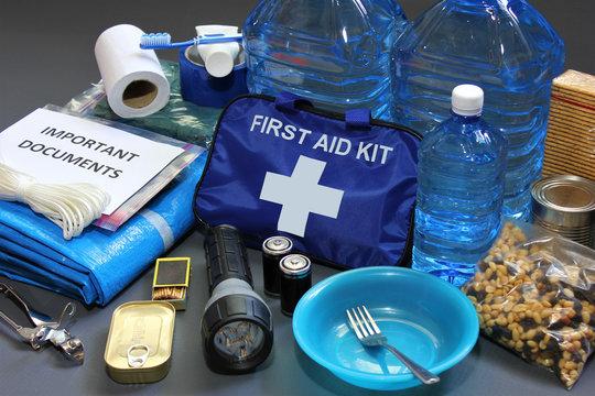 Disaster preparedness items