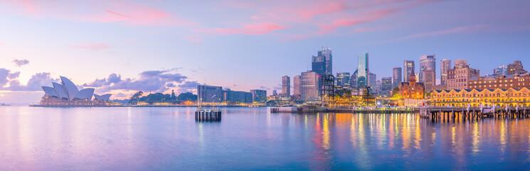 Fototapete - Downtown Sydney skyline in Australia