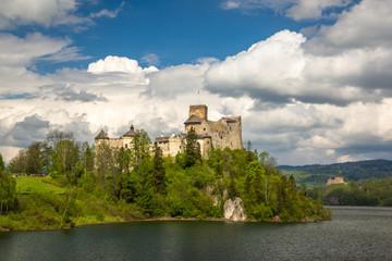 Castle in Niedzica, Malopolskie, Poland
