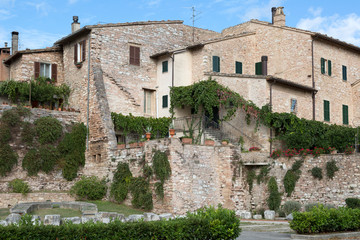 old town of Spello, Umbria, Italy