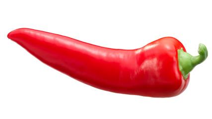Red chile pepper c. annuum, paths