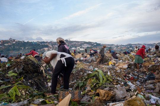 A dump in Madagascar