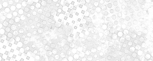 Monochrome grunge background of spots halftone.