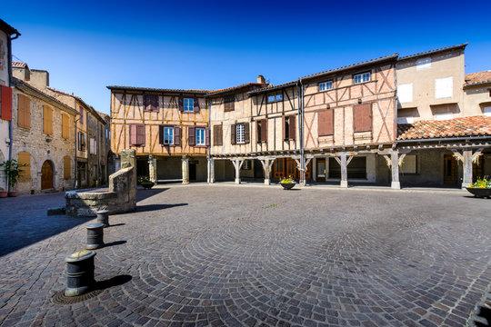 Central place of Lautrec Village