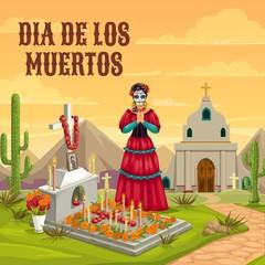 Dia de los Muertos Mexican dead holiday tradition