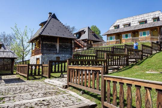 Drvengrad - Wooden City, Zlatibor, Serbia