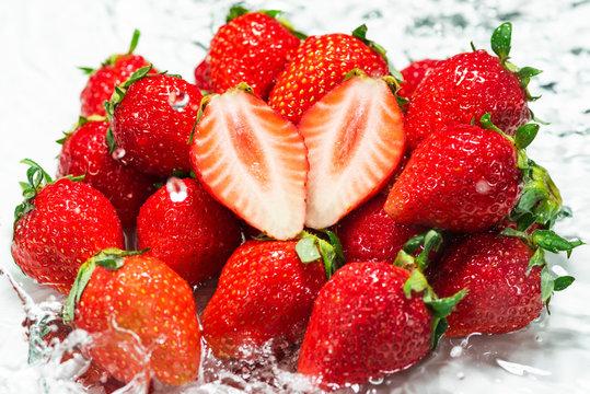 新鮮なイチゴのイメージ
