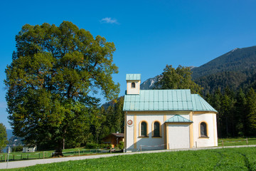 Wall Mural - Seehof Kapelle in Achenkirch in Tirol / Österreich