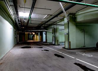 Underground garage for cars in a modern premium building Fototapete