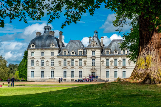 Cheverny Castle in Loire valley,France