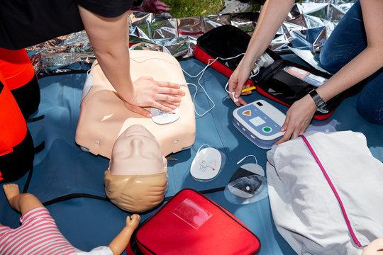 First aid CPR seminar