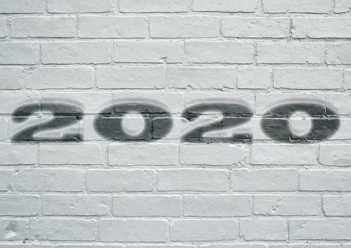Street art. Année 2020