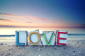 LOVE - Strandurlaub romantisch