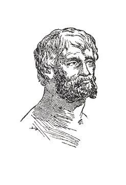 Portrait of Seneca Roman philosopher
