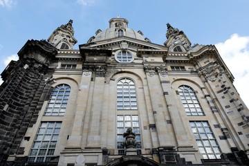 Fototapete - Dresden: Frauenkirche