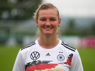 FIFA Women's World Cup France 2019 German team photo - Headshots