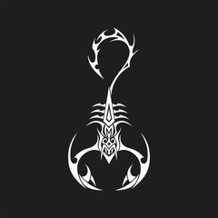 Scorpion Logo Vector Illustration template