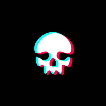 Skull Logo Design Template