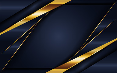 elegant navy blue background with overlap layer