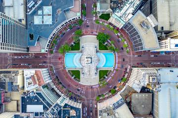 Fototapeta Indianapolis Downtown