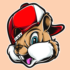 funky chipmunks vector