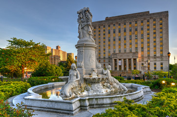 Heinrich Heine Fountain - New York City