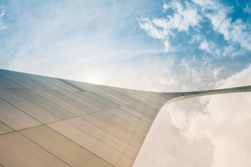 Fotomurales - St Louis Arch Abstract view with sky