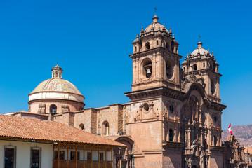 Jesuit Church (church of the Society of Jesus) of Cusco, Peru