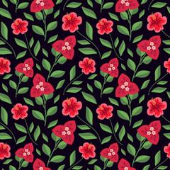 Seamless floral pattern