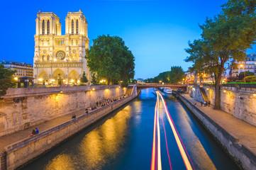Notre Dame de Paris Cathedral in Paris, France Wall mural