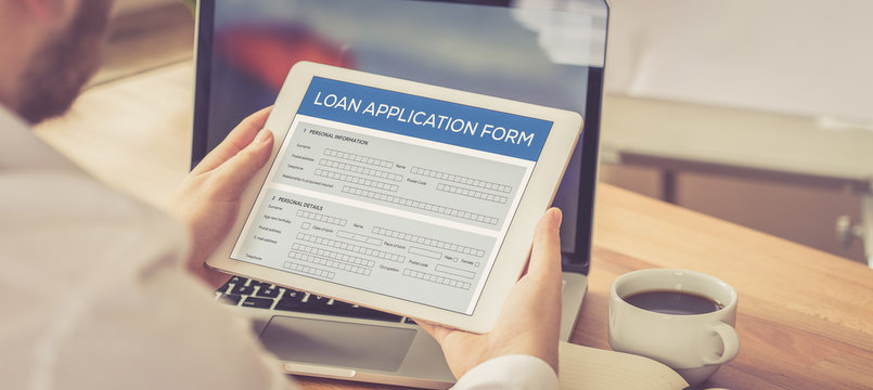 LOAN APPLICATION FORM CONCEPT