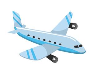 transport airplane aircraft jet cartoon