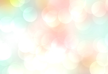 Soft colors blurred spring summer natural bokeh background. 8 march mathers day backdrop.Pastel gradient colorful wallpaper.
