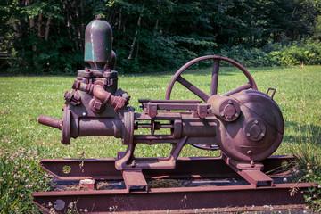 Rusty Machinery Equipment