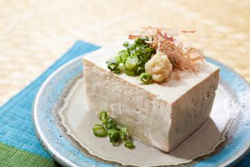 島豆腐-沖縄料理