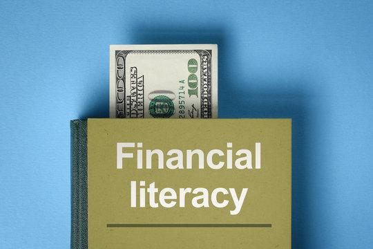 Financial literacy concept