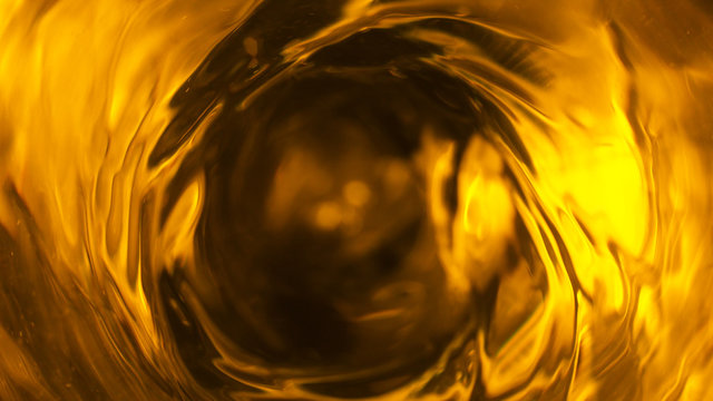 Detail of fuel oil whirl, abstract energy consumption background