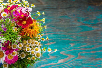 Summer flowers design