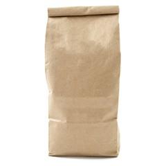 Blank packaging recycled paper bag, coffee bag