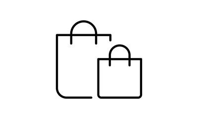 Shopping bag icon ,retail vector - Vector