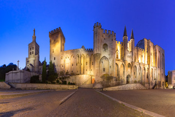 Fototapete - Palace of the Popes, Avignon, France