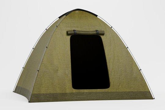 Realistic 3d Render of Tent