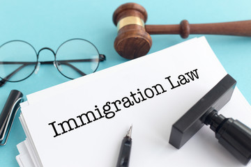IMMIGRATION LAW CONCEPT