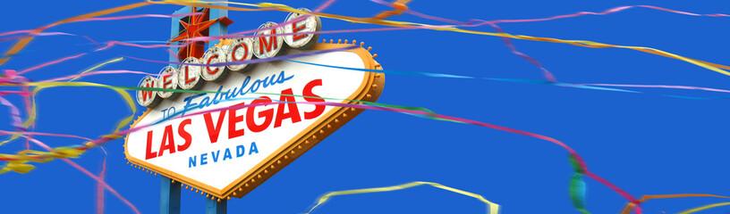 Keuken foto achterwand Las Vegas Welcome to fabulous Las Vegas sign