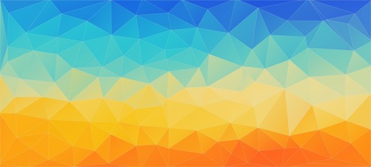 Flat background with triangles. Creative concept layout template for web and mobile app,
