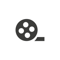 Video icon in trendy flat style isolated on background. Video icon page symbol for your web site design Video icon logo, app, UI. Video icon Vector illustration,