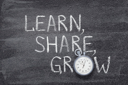 learn, share, grow watch