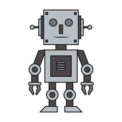 Robot toy technology cartoon