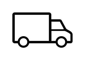 Obraz samochód dostawczy ikona - fototapety do salonu